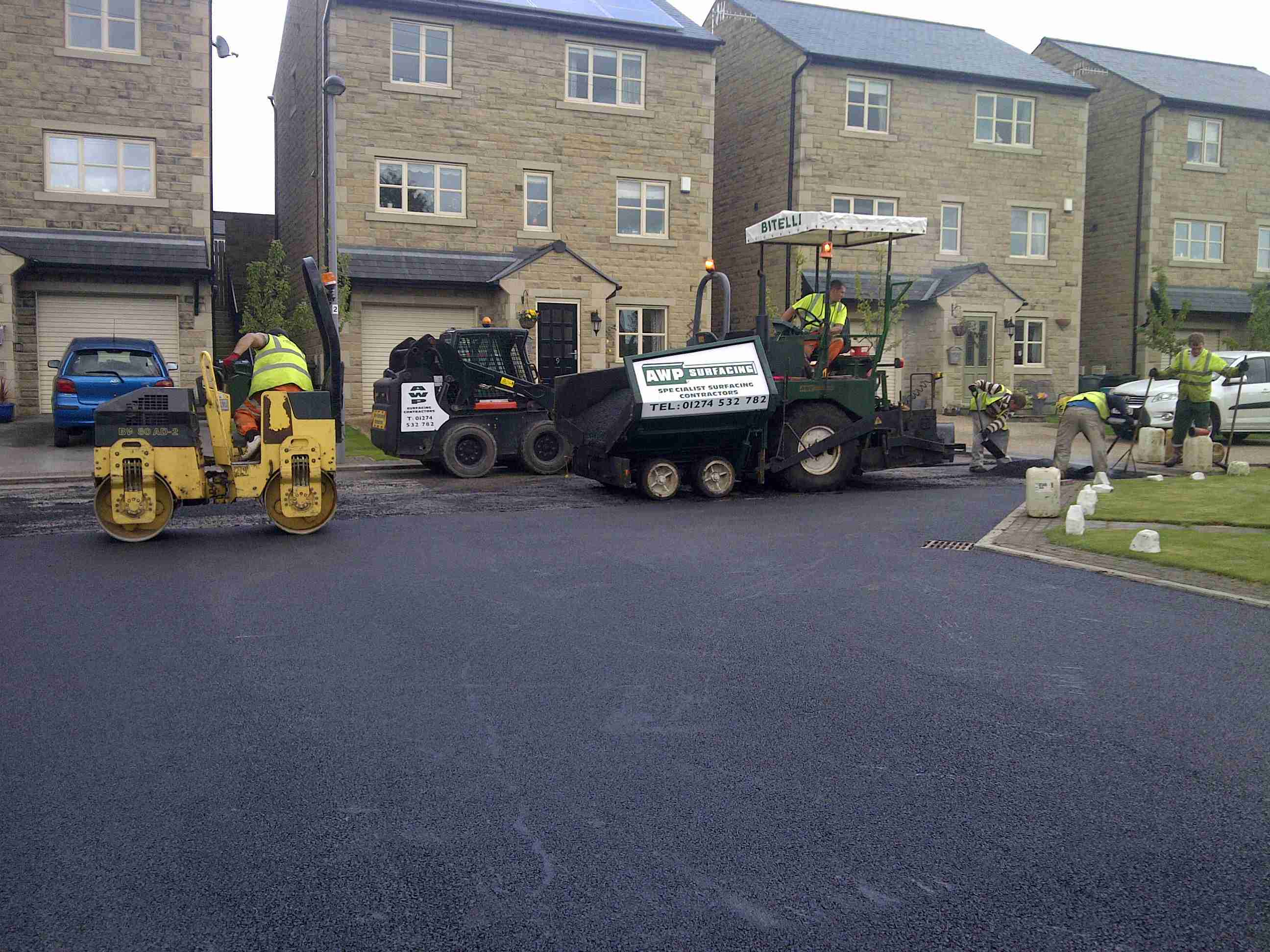 tarmac commercial work