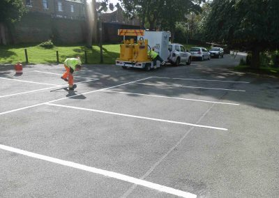 car-park-line-marking-bradford