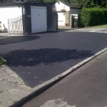 tarmac outside garage
